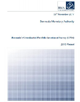 Bermuda Coordinated Portfolio Investment Survey 2016 Report