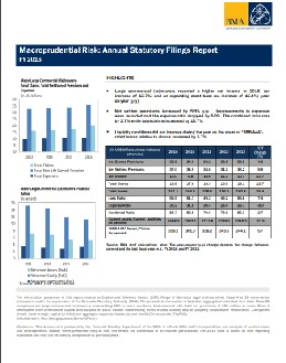 Macroprudential Risk-Annual Statutory Filings Report.FY 2016