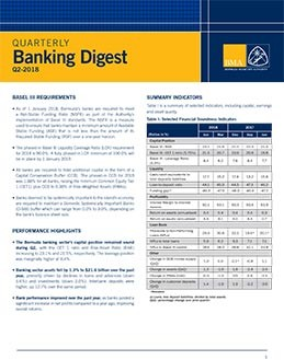 Q2-2018 Quarterly Banking Digest