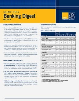 Q1-2018 Quarterly Banking Digest