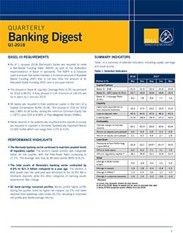 Q4 - 2017 Quarterly Banking Digest