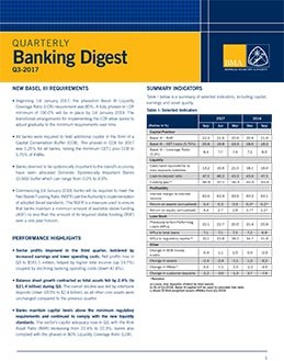 Q3-2017 Quarterly Banking Digest