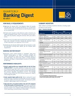 Q1-2017 Quarterly Banking Digest