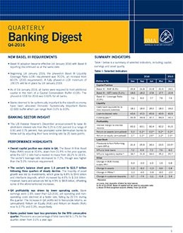 Q4-2016 Quarterly Banking Digest