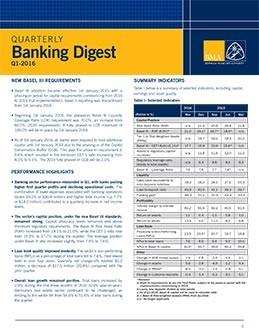 Q1-2016 Quarterly Banking Digest