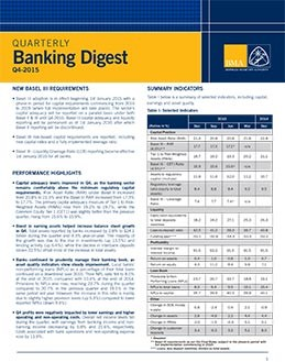 Q4-2015 Quarterly Banking Digest