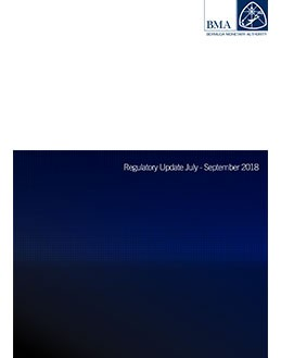 Regulatory Update July - September 2018