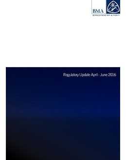 Regulatory Update April - June 2016