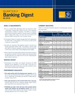 Q3-2018 Quarterly Banking Digest