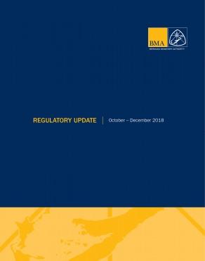Regulatory Update October - December 2018