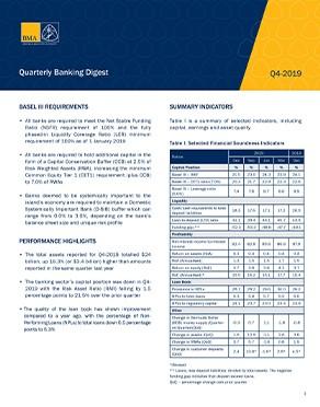 Q4-2019 Quarterly Banking Digest