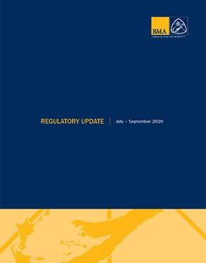 Regulatory Update July - September 2020