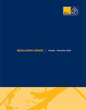 Regulatory Update October - December 2020