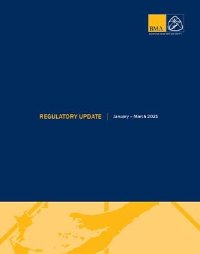 Regulatory Update January - March 2021