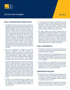 Q1-2021 Quarterly Banking Digest