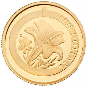 Gold Proof Easter Lily