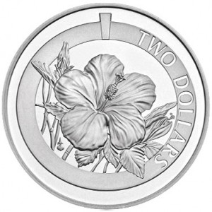 Silver Hibiscus