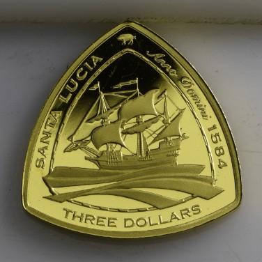 Santa Lucia 1oz Gold Proof Coin