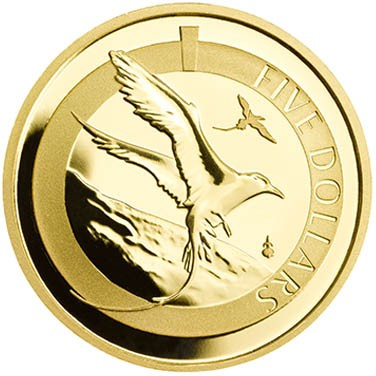 Gold Proof 1/20th Oz Bermuda Longtail